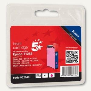 officio Tintenpatrone, kompatibel zu Epson T1283, magenta, 3.5 ml, T12834011