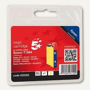 officio Tintenpatrone, kompatibel zu Epson T1284, gelb, 3.5 ml, T12844011
