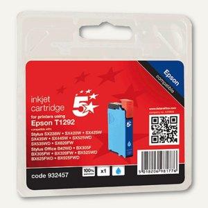 officio Tintenpatrone, kompatibel zu Epson T1292, cyan, 7 ml, T12924011