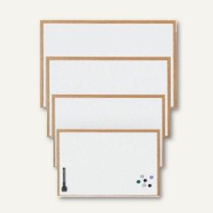 OWB Schreibtafel - 59 x 39 cm, Holzrahmen, magnetisch, Marker+Magnete, M89502