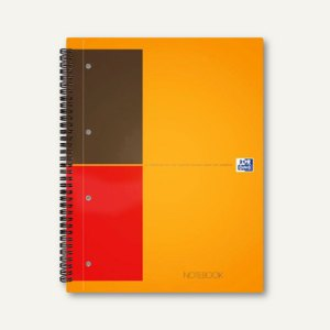 Artikelbild: Spiralcollegeblock Notebook International DIN A5+