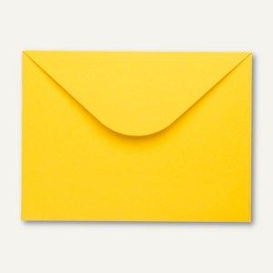 Buntbox Buntkartonumschlag DIN C4+, 32.5 x 24 cm, 350 g/m², gelb, 12 Stück