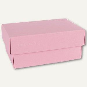 Geschenkschachteln A7, Karton, 10.2 x 6.5 x 4.6 cm, 350 g/m², rosa, 12er-Pack