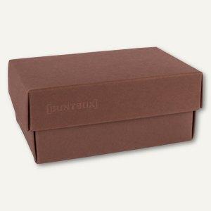 Geschenkschachteln A6, Karton, 17 x 11 x 6 cm, 350g/m², dunkelbraun, 12er-Pack
