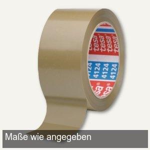 Tesa Klebeband 4124, PVC, 38 mm x 66 m, braun, 8 Rollen, 04124-00095-00
