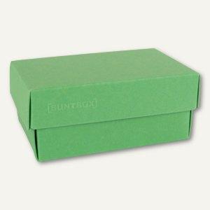 Geschenkschachteln A4, Karton, 34 x 22 x 11.5 cm, 350g/m², grün, 12er-Pack