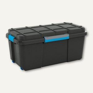 CEP Aufbewahrungsbox SCUBA, 110 Liter, 445x460x735mm, dicht, schwarz, 8432Scuba