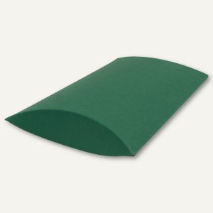 Kissenschachtel / klein, Karton, 16 x 11 x 3 cm, 350 g/m², dunkelgrün, 12 St.