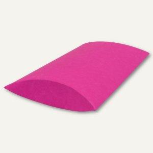 Buntbox Kissenschachtel / mittel, Karton, 23 x 16 x 4 cm, 350 g/m², pink, 12 St.