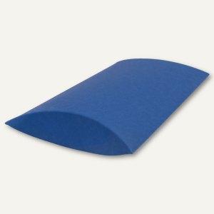 Kissenschachtel / mittel, Karton, 23 x 16 x 4 cm, 350 g/m², dunkelblau, 12 St.