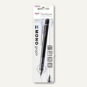 "Tombow Druckbleibstift ""MONO GRAPH"", 0.5 mm Mine, schwarz, SH-MG11-BS"