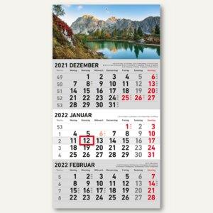 3-Monatswandkalender