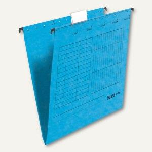 Hängemappe UniReg DIN A4, Kraftkarton, seitlich offen, 230 g/m², blau, 25 St., 8