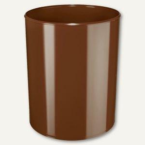 HAN Papierkorb 20 Liter, Polystyrol, flammhemmend, braun, 1818-F-08