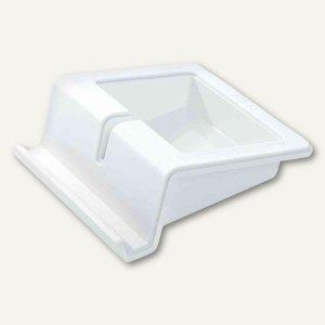 """HAN Tablet-Ständer """"Stand UP"""", Kunststoff, 100 x 114 x 40 mm, weiß, 92100-12"""