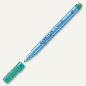 Universalstift Lumocolor correctable 305, non-permanent, F/0.6 mm, grün, 305 F-5