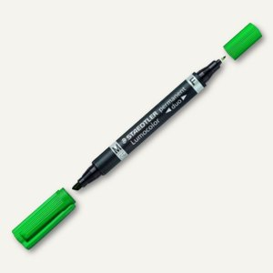 Artikelbild: Lumocolor Permanent-Marker duo - Keilspitze