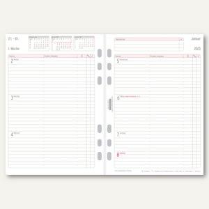 Chronoplan Zeitplaner Wochenplan, DIN A5, 1 Woche/2 Seiten, Zeilen, 50577