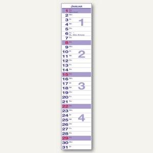 Güss Streifenkalender 11 x 49.4 cm, 1 Monat/1 Blatt