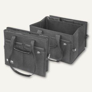 Einkauftasche BigBox Shopper - Größe: L, 450 x 350 x 300 mm, faltbar, schwarz, 5