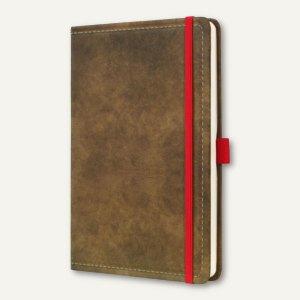 Notizbuch CONCEPTUM Vintage, 135x203 mm (ca. A5), liniert, Hardcover, braun, CO6