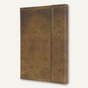 Notizbuch CONCEPTUM Vintage, 207x280 mm (ca. A4), kariert, Hardcover, braun, CO6