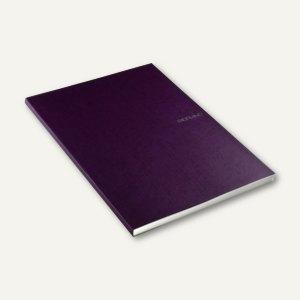 Notizbuch EcoQua, DIN A4, punktiert, kratzfest, 90 Blatt, violett, 21297855