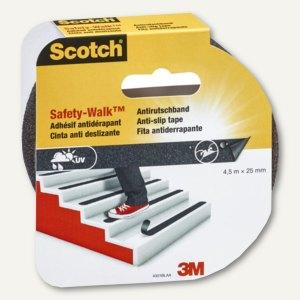 Antirutschband Safety-Walk für Innen & Außen, 25 mm x 4.5 m, schwarz, 4301BLA