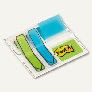Index Standard + Pfeile, sortierte Maße, sortierte Farben, 3x 16 Haftstreifen, 6