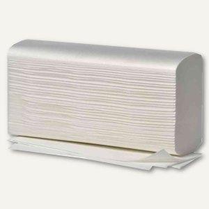 Handtuchpapier - 235 x 320 mm, 2-lagig, Interfold, hochweiß, 20 x 125 Blatt, 405