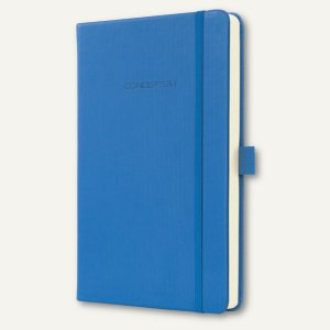 Notizbuch CONCEPTUM, 135x203 mm (ca.A5), kariert, Hardcover, dust blue, CO616