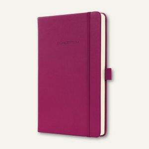 Notizbuch CONCEPTUM, 95x150 mm (ca.A6), liniert, Hardcover, wild pink, CO617