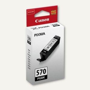 Canon Tintenpatrone Nr.570, 15 ml, ca. 300 Seiten, schwarz pigmentiert, 0372C001