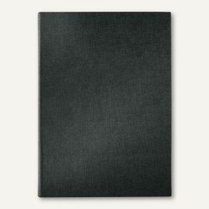 Sigel Speisekarten-Mappe DIN A4, Gummibindung, blanko, 8 Blatt, schwarz, SM110