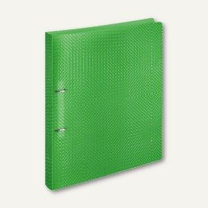 Ringbücher VELOCOLOR A4, PP, 2 D-Ringe Ø 20 mm, hellgrün, 12 Stück, 1141741
