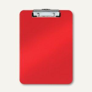 Klemmbrett Bebop, DIN A4, 319 x 227 mm, Polystyrol, rot, 10er-Pack, 3963-00-25