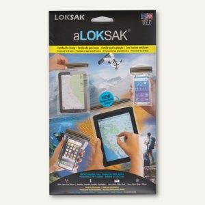 aLOKSAK Wasserdichte Tasche - Tablets & Smartphones, 4 Größen im Set, 37859