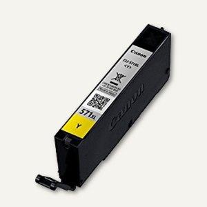 Tintenpatrone CLI-571XL Y
