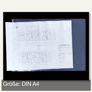 Planschutzhülle - DIN A4, 230 x 320 mm, wetterfest, transparent, 10 Stück, A4-10