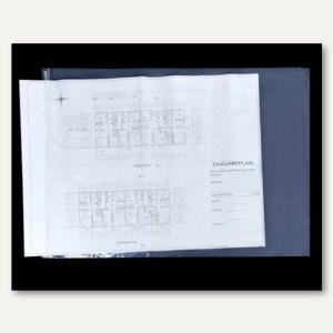 Böck Planschutzhülle 1.050 x 1.800 mm, wetterfest, transparent, 10 Stück,1800-10