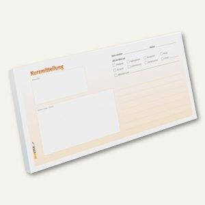 Artikelbild: Kurzmitteilungs-Haftnotizblock - DIN lang