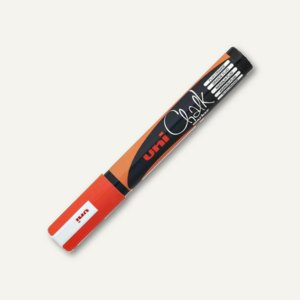 uni-ball Kreidemarker Chalk, Rundspitze 1.8 - 2.5 mm, neon-orange, PWE-5M O FLUO