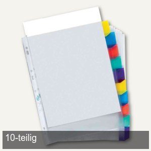 Register-Prospekthülle - DIN A4+