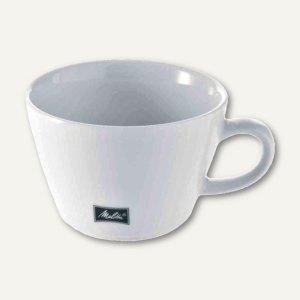 "Melitta Cappucino-Tassen ""M-Cups"", 0.25 l, Porzellan, weiß, 6 Stück, 18907"
