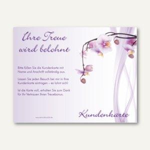 Kundenkarte ORCHIDEE