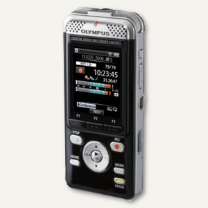 Olympus Diktiergerät DM-901 - 4 GB, schwarz