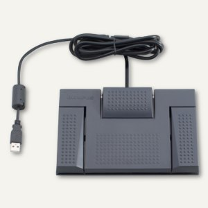 Olympus Fußschalter RS28H für Olympus Diktiergerät-Serie DS & AS, 3 Tasten
