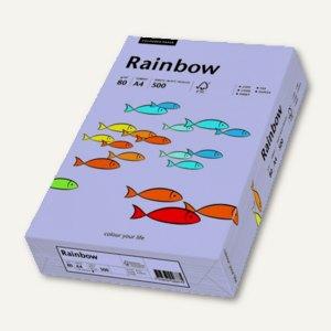 """farbiges Kopierpapier """"Rainbow"""" DIN A4, 80 g/qm, violett, 500 Blatt, 88042563"""
