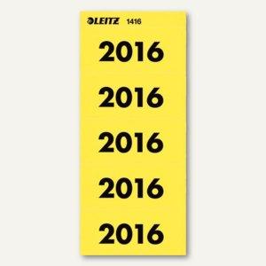 Ordner-Inhaltsschild Jahreszahl 2016