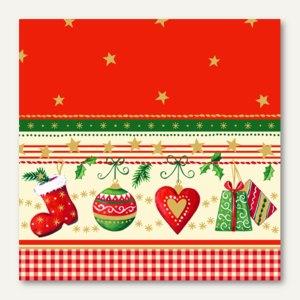 Servietten Traditional Christmas